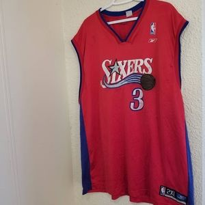Allen Iverson 76ers Reebok Jersey